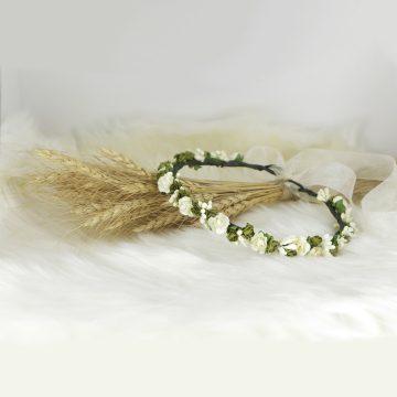 تاج-گل-کاغذی-سبز