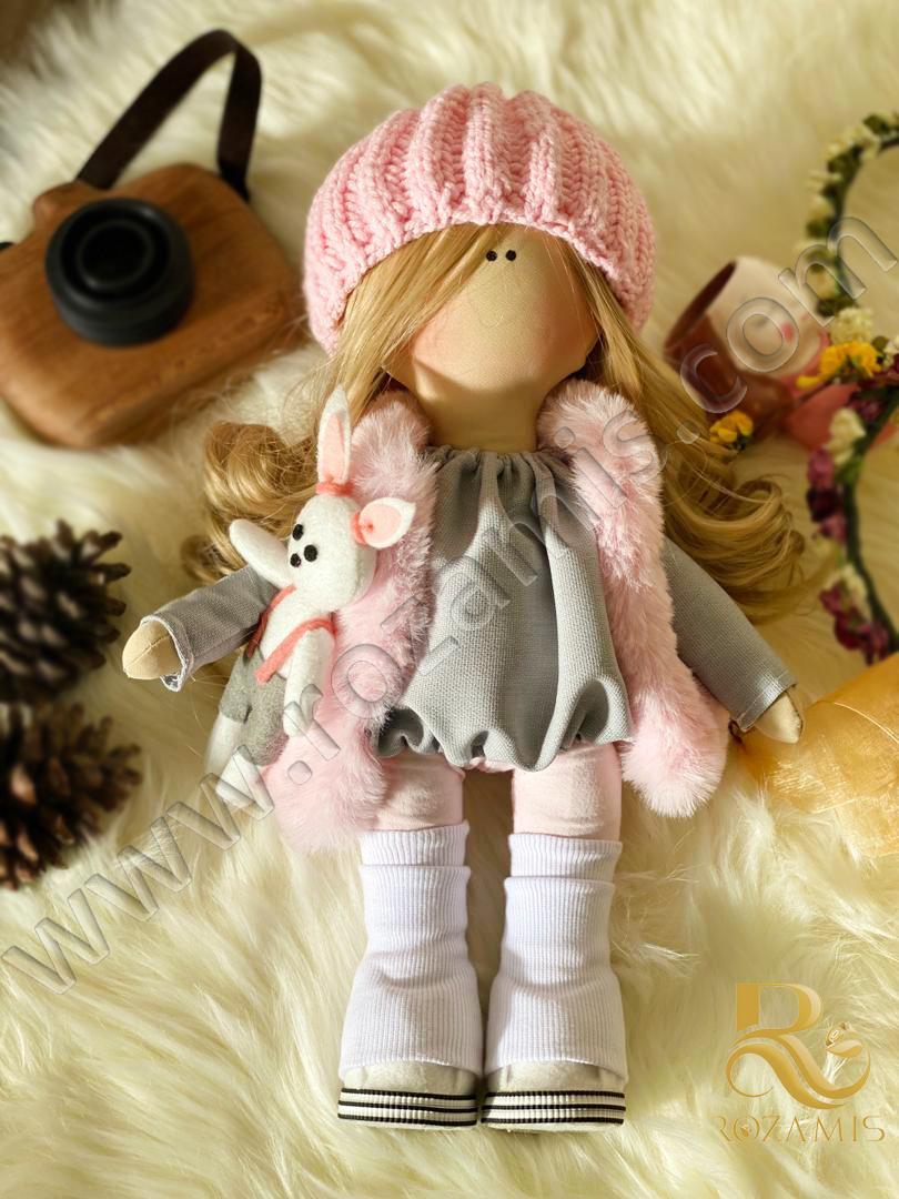 عروسک-روسی-صورتی