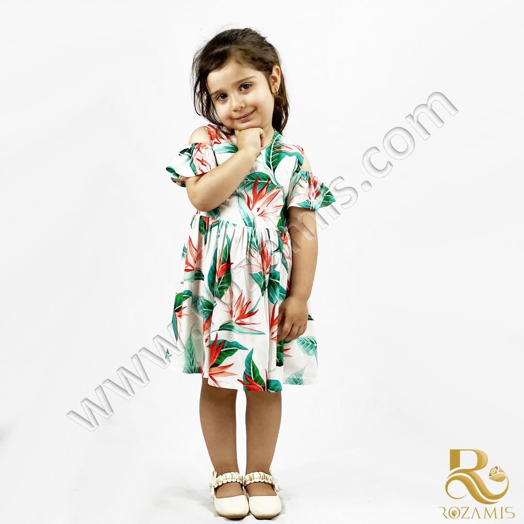 پیراهن زیبای دخترانه-مدل GS-876