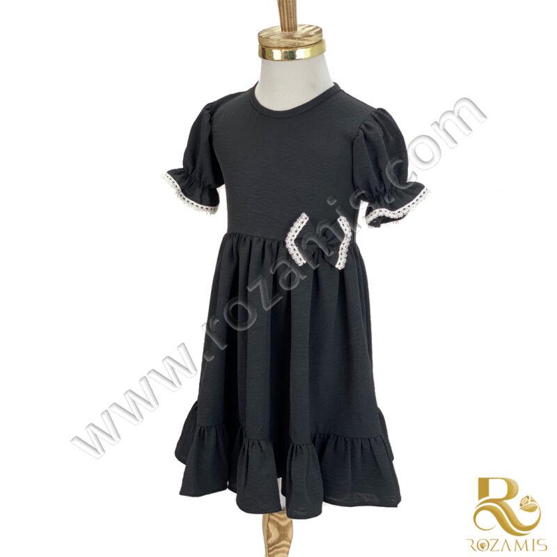 پیراهن مشکی دخترانه محرمیGS-879