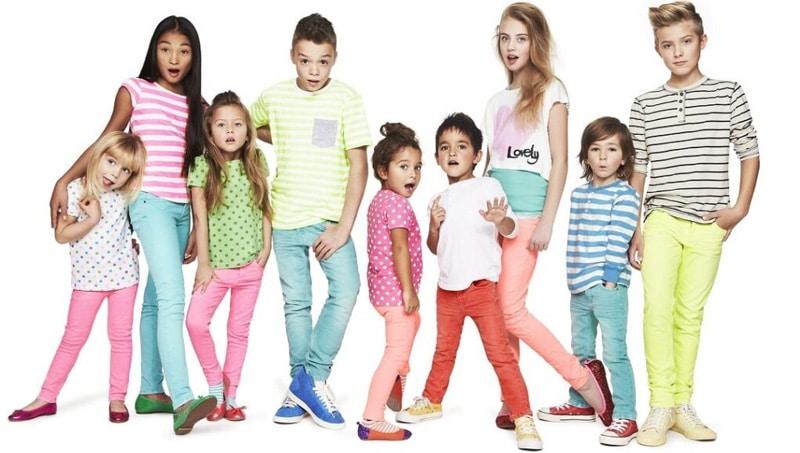 انتخاب سبک لباس برای کودکان